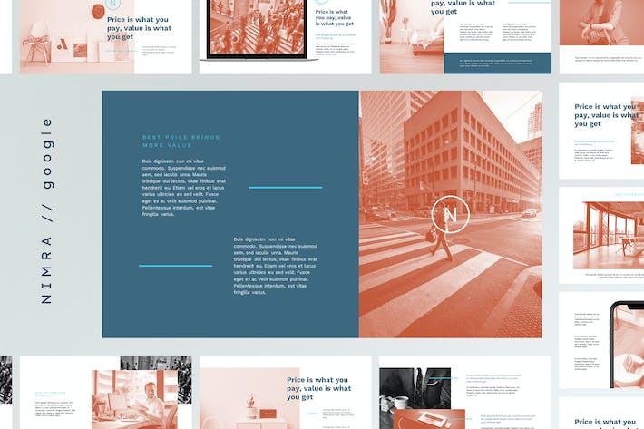 Thumbnail for NIMRA - Creative & Elegant Google Slides