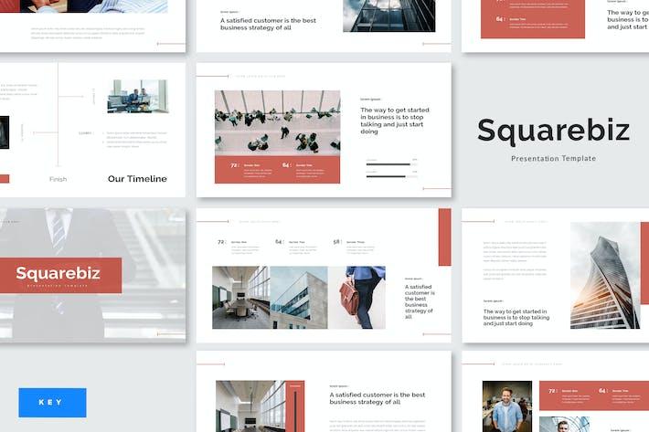 Thumbnail for Squarebiz - Business Keynote Template