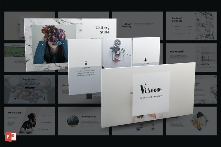 Vision powerpoint template by grizzlydesign on envato elements cover image for vision powerpoint template toneelgroepblik Image collections