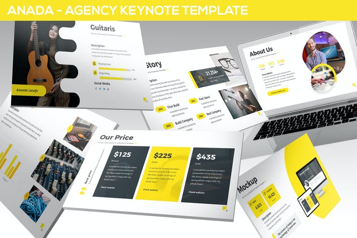 Thumbnail for Anada - Agency Keynote Template