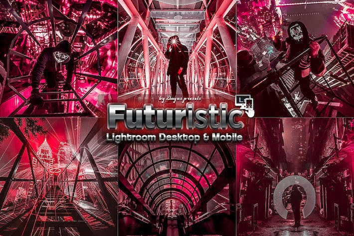 Cover Image For Futuristic Street Lightroom Presets