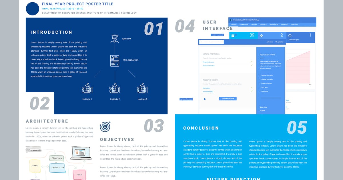 Download FINAL YEAR PROJECT POSTER by xvelopers