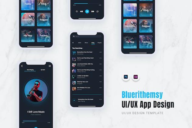 Bluerithemsy App Mobile