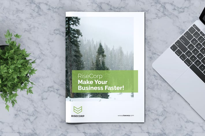 Cover Image For Creative Brochure Template Vol. 16