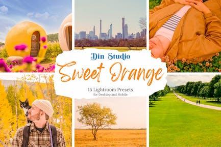 Sweet Orange Lightroom Presets