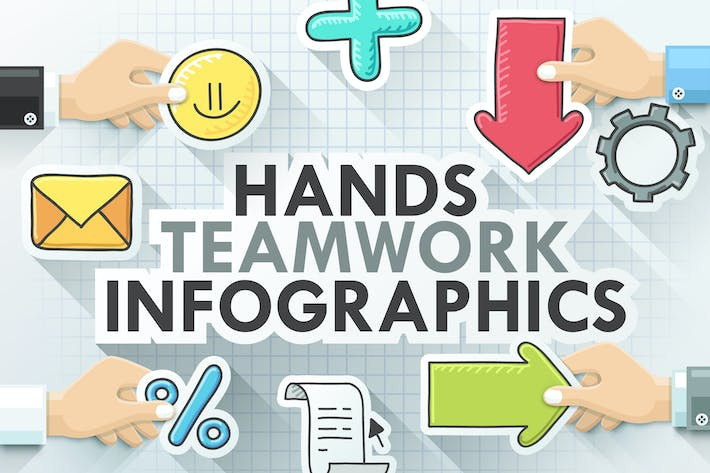 Thumbnail for Teamwork Infografiken