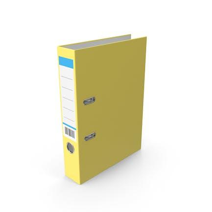 Carpeta de documentos Amarillo