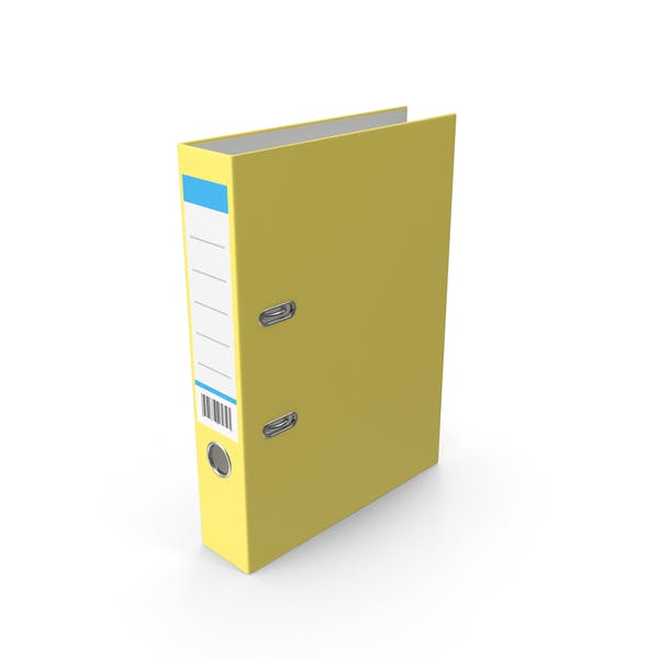 Thumbnail for Document Binder Yellow