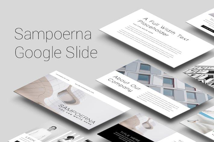 Thumbnail for Шаблон слайдов Sampoerna Google
