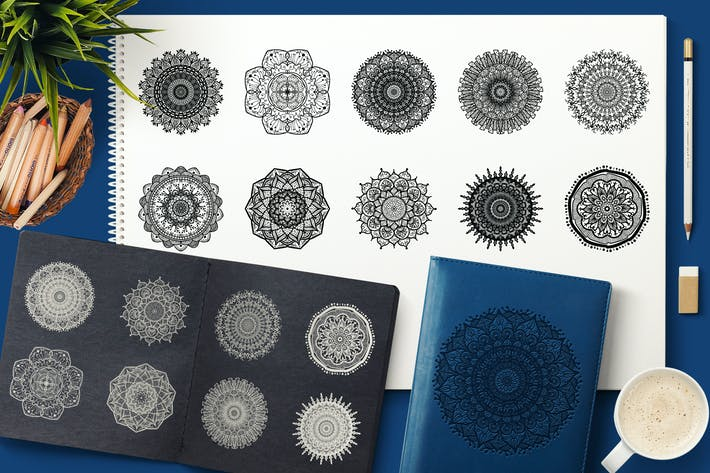 Thumbnail for Vector Mandala Collection