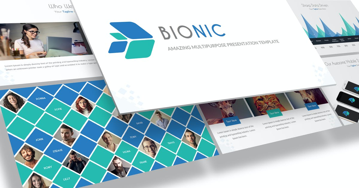 Download Bionic - Amazing Keynote Template by Unknow
