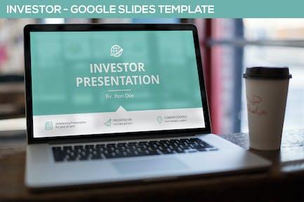 Investor Google Slides Template