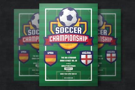 Soccer Football Flyer Template