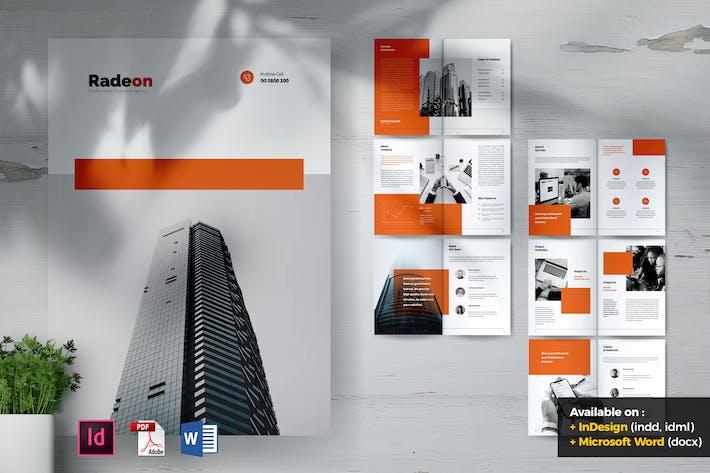 Thumbnail for RADEON Creative Agency Company Profile Brochures