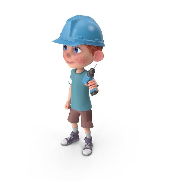 Thumbnail for Cartoon Boy Charlie Worker