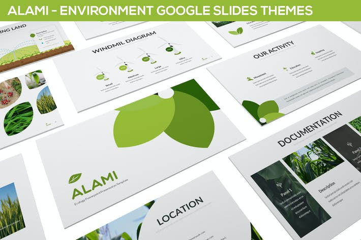 Thumbnail for Alami - Environment Google Slides Template