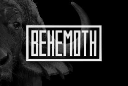 Police de caractères Behemoth