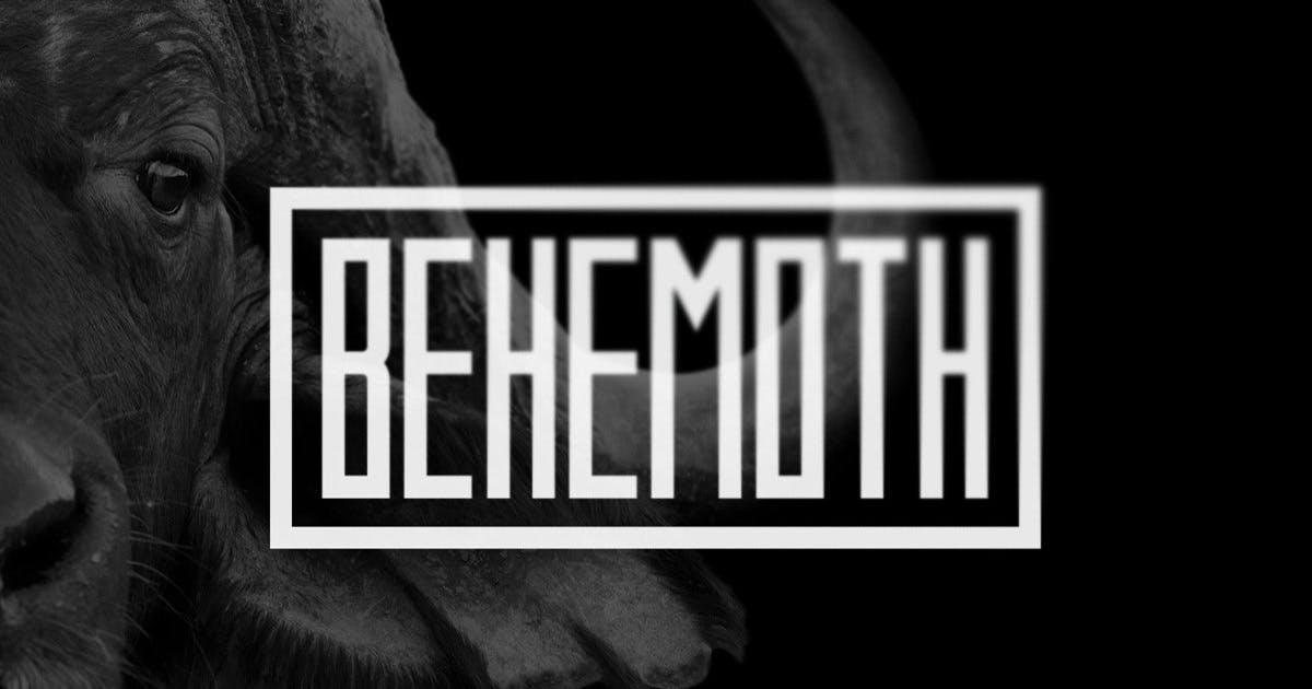 Download Behemoth Typeface by MehmetRehaTugcu
