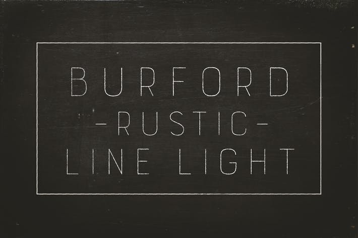 Thumbnail for Burford Rustic Line Light