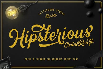 Hipsterious Typeface