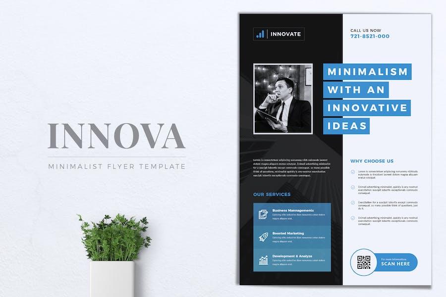 INNOVATIONS Multipurpose Corporate Flyer