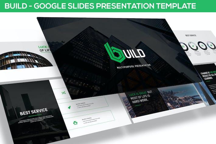Thumbnail for Build - Google Slides Template