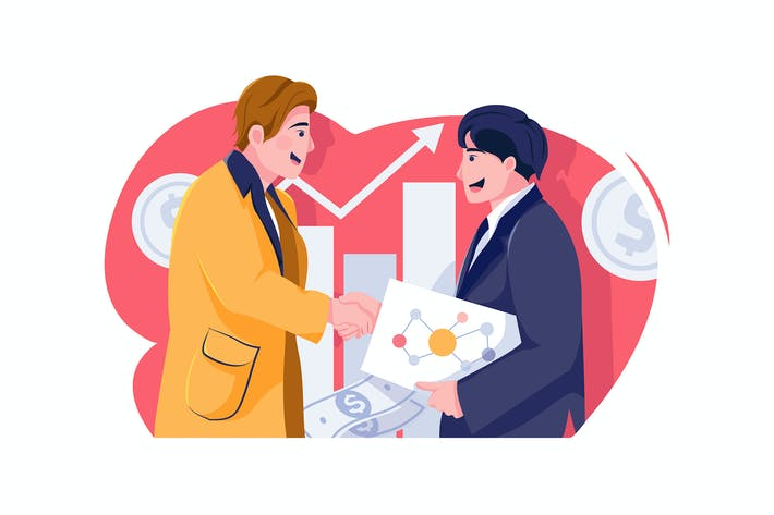 Thumbnail for Affiliate Marketing vector Illustration concept.