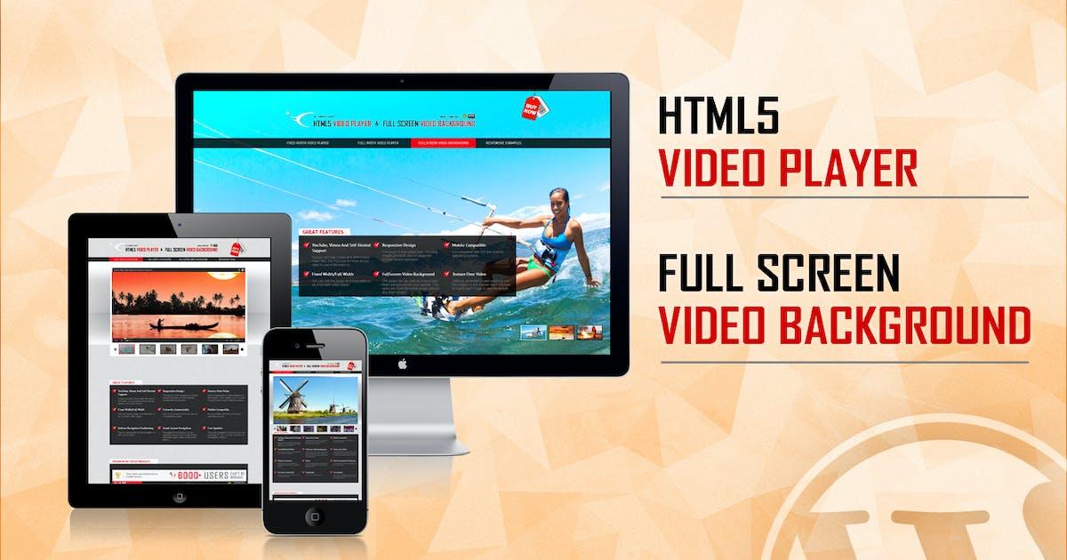 Download Video Player & FullScreen Video Background by LambertGroup