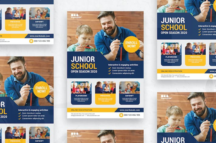 Cover Image For Kids Education - Flyer