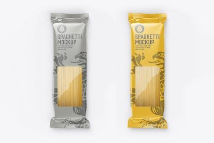 Pasta Packaging Mockup