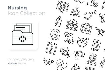 Nursing Outline Icon