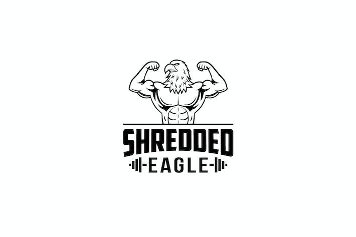 Thumbnail for Shredded Eagle Logo