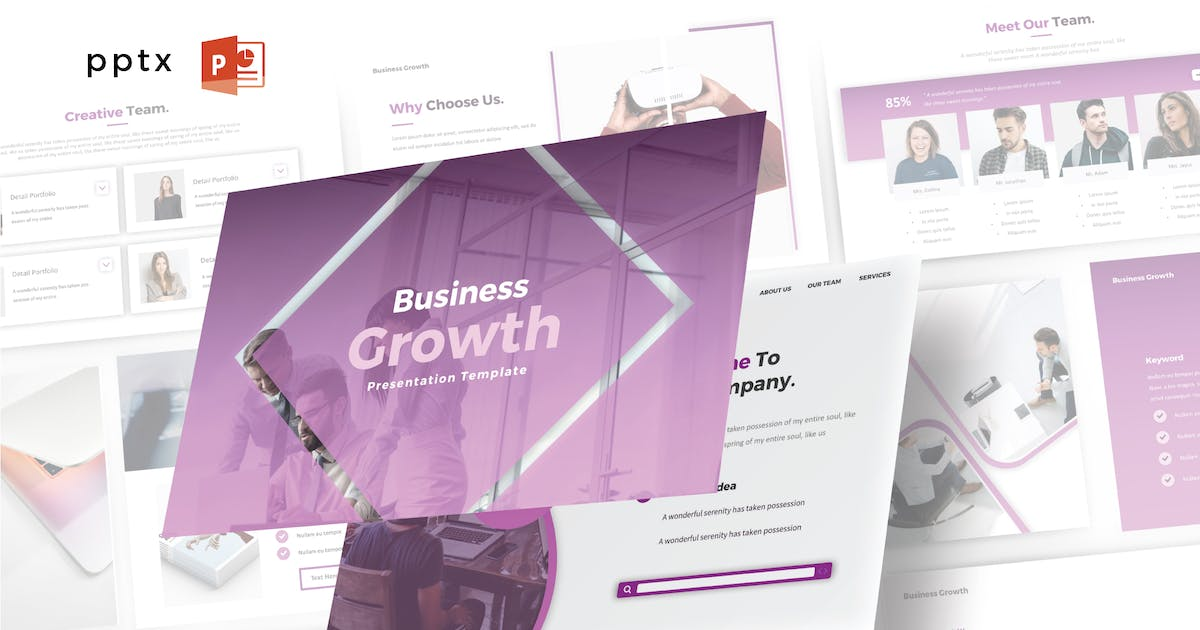 Download BUSINESS GROWTH - Powerpoint V467 by Shafura