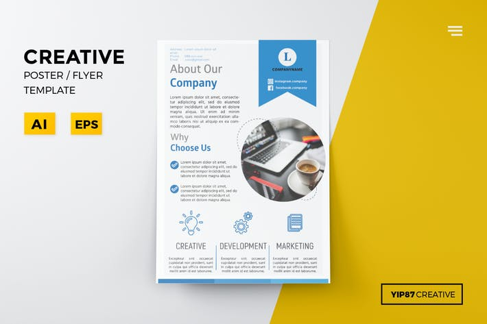 Cover Image For Creative Flyer