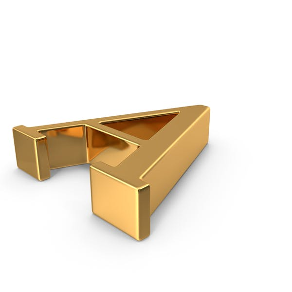 Thumbnail for Gold Capital Letter A