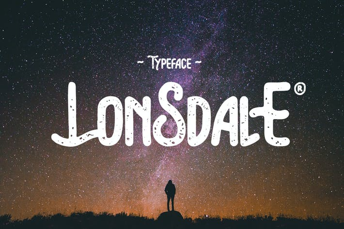 Thumbnail for Lonsdale Typeface