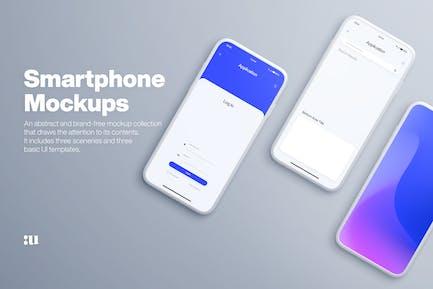 Smartphone-Mock-ups