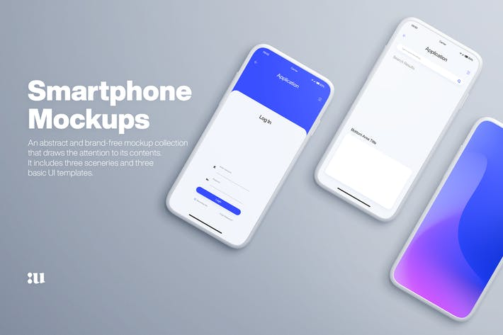 Thumbnail for Smartphone Mockups