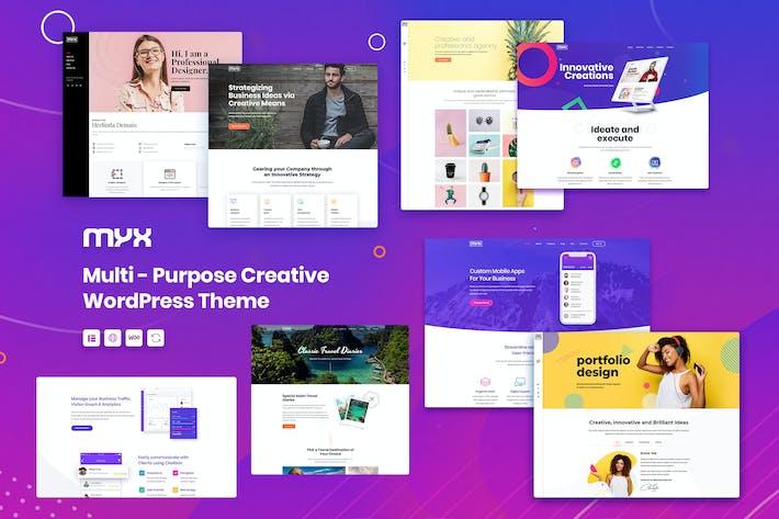 Thumbnail for Myx - Multipurpose WordPress theme