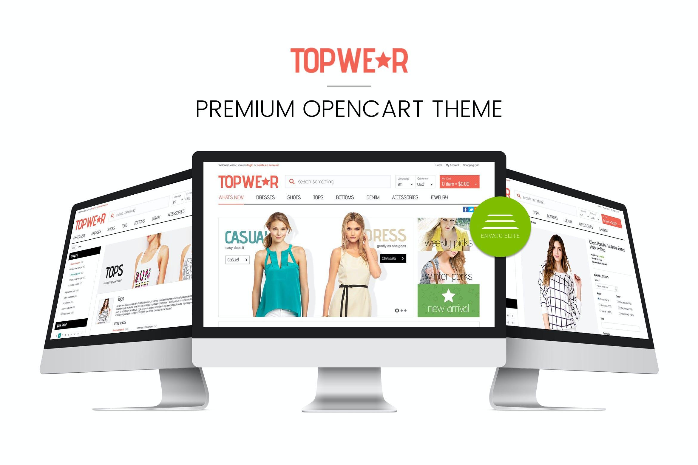 Fashion Responsive OpenCart 1 5 Theme - TOPWEAR by tvlgiao