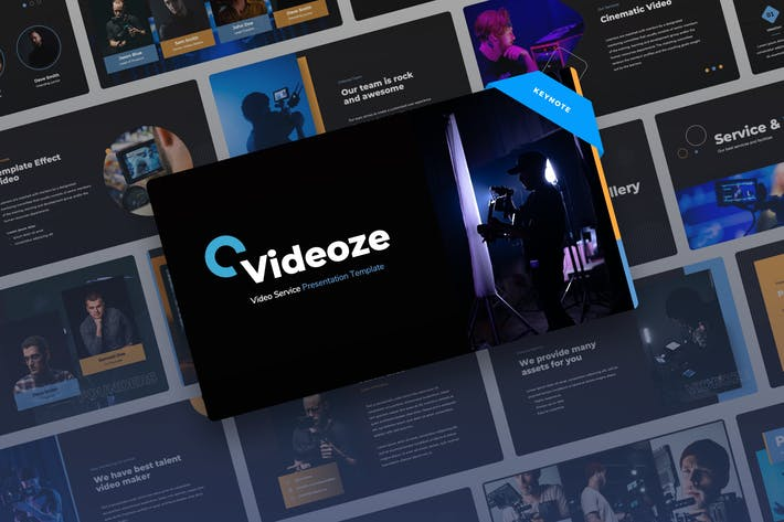 Thumbnail for Videoze - Видео сервис Keynote