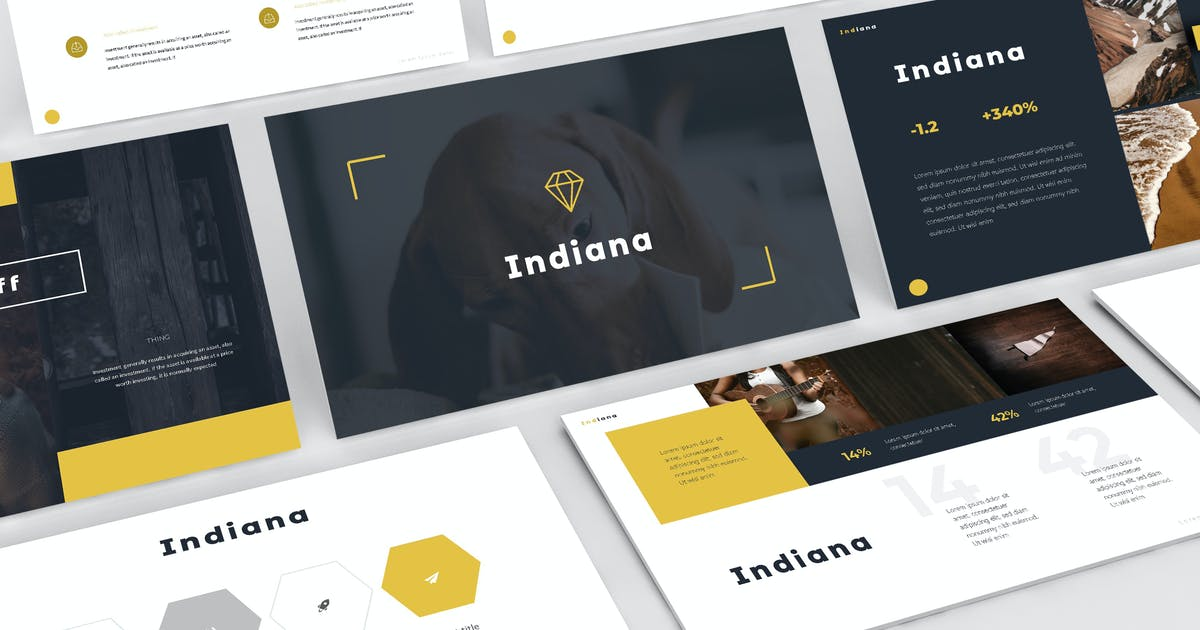 Download Indiana - Keynote Template by aqrstudio