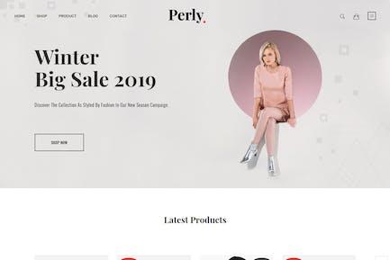 Perly – Fashion Shopify Theme