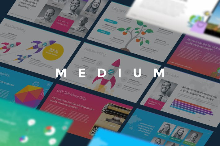 Thumbnail for Medium - Presentation Template