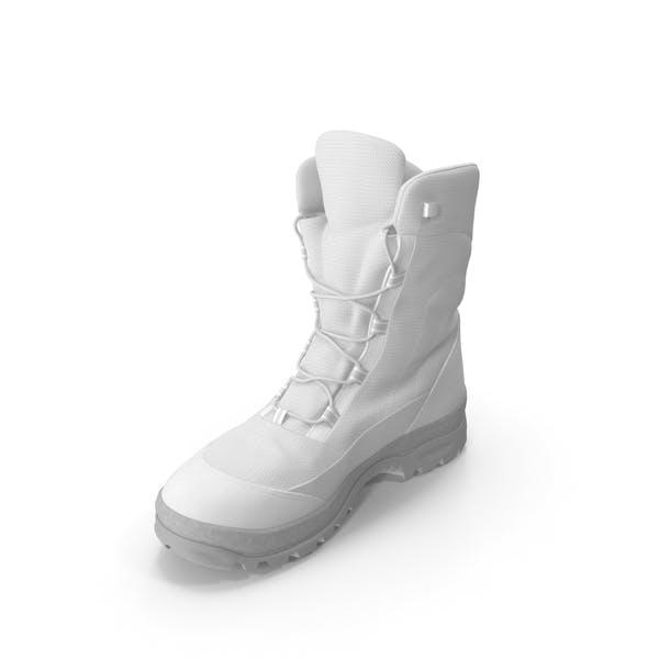 Thumbnail for Men's Winter Boots White