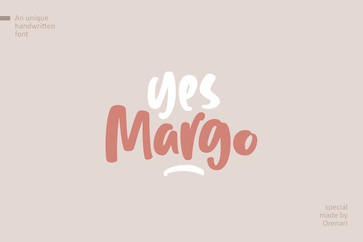 Sí, Margo