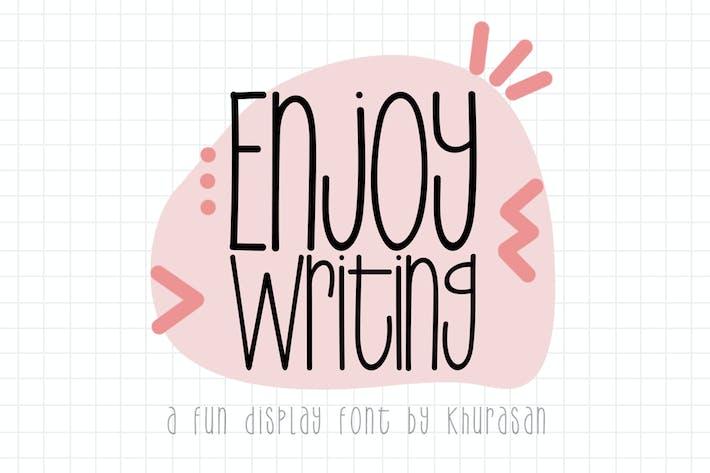 Thumbnail for Enjoy Writing