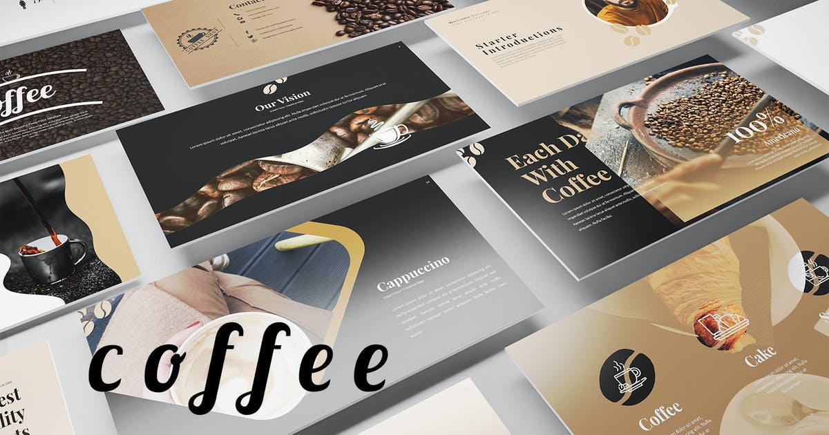 Download Coffee PowerPoint Presentation by Jhon_D_Atom