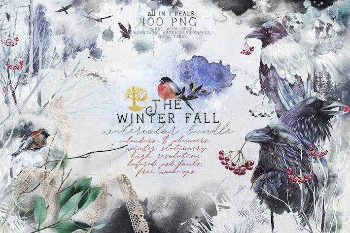 Winter fall bundle  all in 1