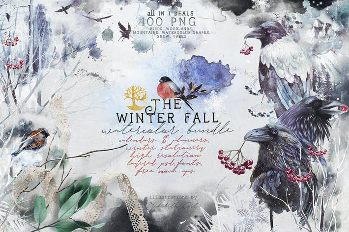 Thumbnail for Winter fall bundle  all in 1